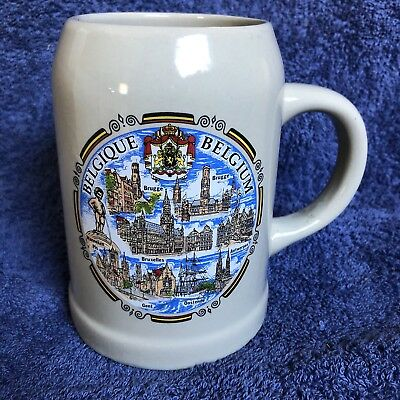 Belgium Beer Stein - Collectable, Man Cave, Home Brew