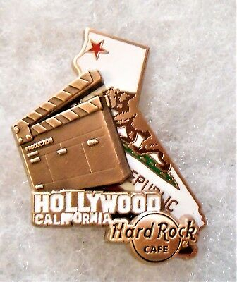 Hard Rock Cafe Hollywood Citywalk Limited Edition 3D World Map Series Pin #95311