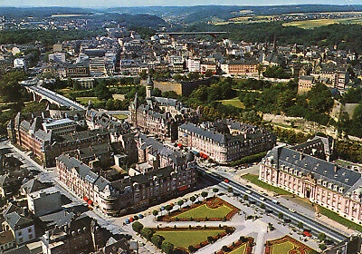 Carte LUXEMBOURG LUXEMBOURG Vue aérienne