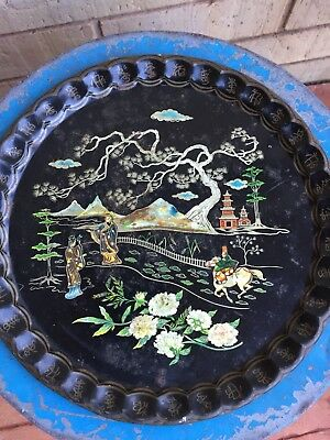 Vintage Baret Ware Cathay Cocktails Tray