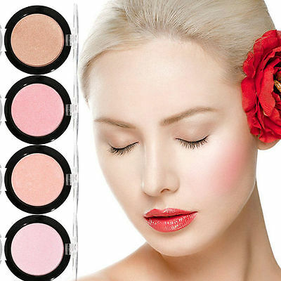 Professional Highlighter Palette Beauty Make Up Face Foundation Press Powder AU