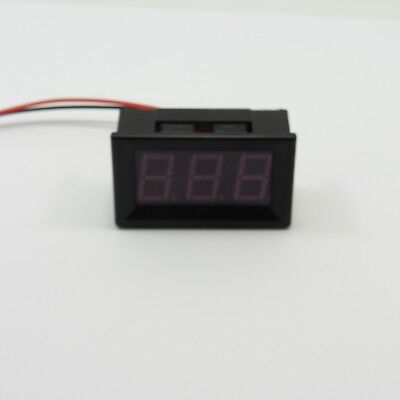 0.56' LED Voltmeter DC 7-150V Two Wire 12V Panel Different Color Digital Display
