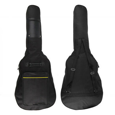 Guitar Bag Acoustic Classical Electric Bass Case Cover Gig Bag With Straps she
