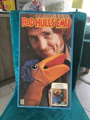 A Denys Fisher Vintage, Boxed & Tagged Original Emu Puppet - VGC!!