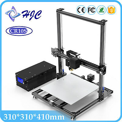 HCmaker7 LCD Display 3D Printer Knob Control Large Printing Size 310*310*410mm