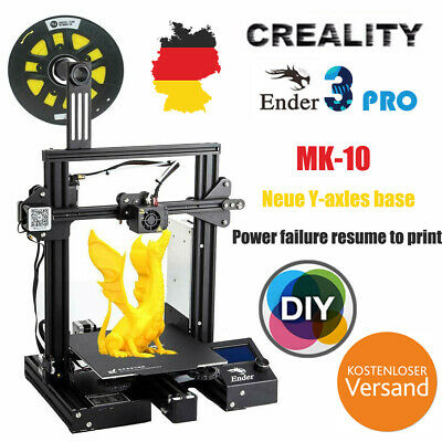 CR-10S 3D Drucker Large Size Dual Drive Double Y axis track+Double Z axis Stable