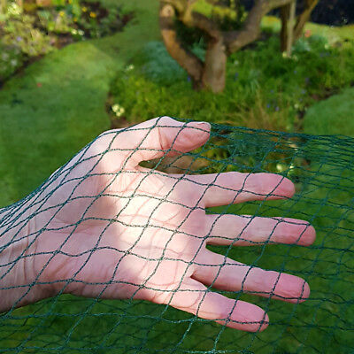 4M WIDE X5M HEAVY DUTY BIRD NETTING For Pond Garden Fruit Cage & Crop Protection