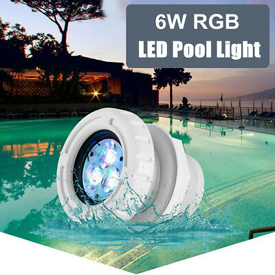 AC12V Swimming Pool Lights Spa LED RGB/ White Color Standard 2 inch Wall Fitting