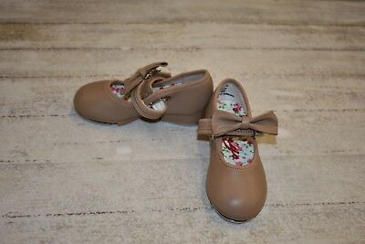 **Capezio 3800T Buckled Mary Jane Tap Shoe - Toddler's Size 6M - Brown