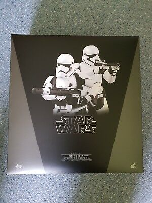 """First Order Stormtroopers Star Wars Episode VII 12"""" Figur MMS319 Hot Toys"""