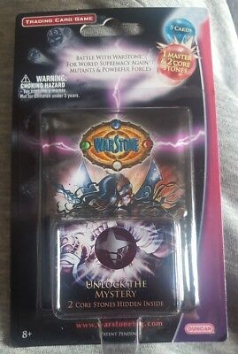new sealed WARSTONE  Trading Card Game Booster Pack Duncan Toys cards core stone