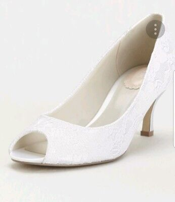 Pink by paradox London Bridal Shoes Size 7