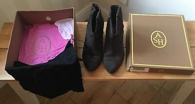 ASH Joulouse Woodash Boots Size 38 /5 With Box & Dustbag