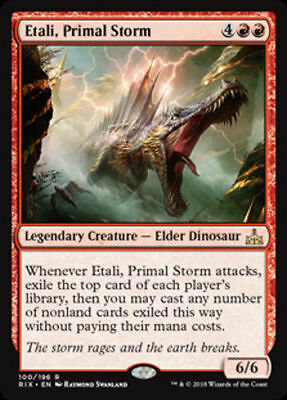 1x ETALI, PRIMAL STORM - Rivals of Ixalan - MTG - NM - Magic the Gathering