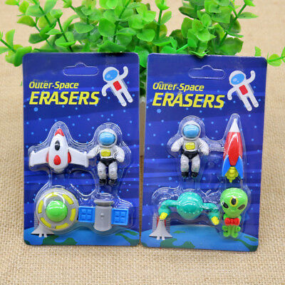 1PC Creative Cute Students Pen Shaped Eraser Rubber Kid Gift Toy Z6Z3 Stati M9T2