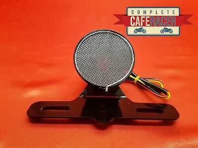 (L25) Cafe Racer Rear Light Red Stop Tail & Number Plate Light