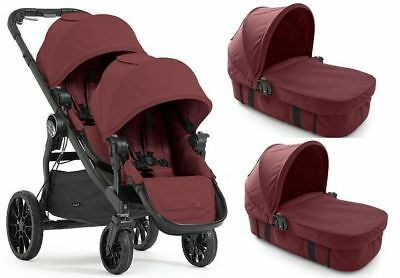 Baby Jogger City Select Lux  DLA DWOJGA 4w1 Twin Double Stroller