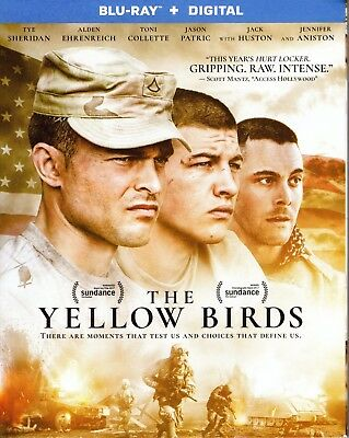 The Yellow Birds Blu-Ray + Digital New Sealed