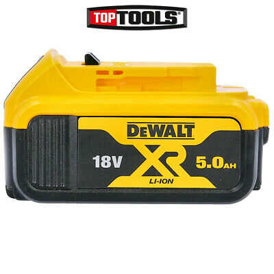 Dewalt DCB184 Genuine 18V 5.0ah Battery  For DCD795, DCD885, DCS331, DCS3391