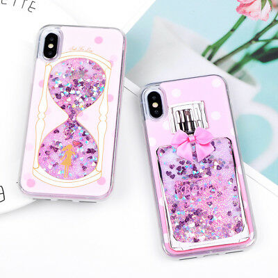 Dynamic Liquid Glitter Quicksand Soft TPU Back Phone Case Cover For iPhone 6  8P