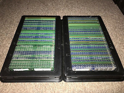 LOT of (100) MIXED BRANDS - 1GB PC3-10600U/8500U DDR3 Desktop Memory RAM