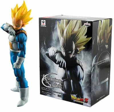 Dragon Ball Z Resolution of Soldiers Vegeta Awaken 56# Super Saiyan ROS Figure