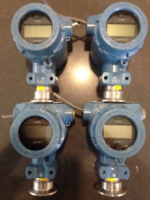 LOT OF 4 ROSEMOUNT 2090 FG2S2DE1M5 ,7 SMART Pressure Transducer Transmitter 4-20