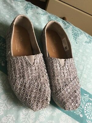 Size 4 Grey TOMS Shoes