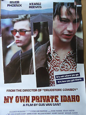 RIVER PHOENIX MY OWN PRIVATE IDAHO - ORIGINAL poster