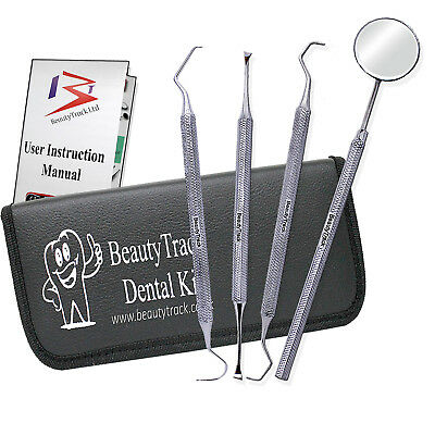 Pro Dental Set Dentist Scaler Instruments pick tool kit Tooth Cleaning Whitening
