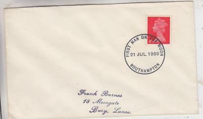 21/7/1969 First Man On The Moon Stamp First Day Cover  A16