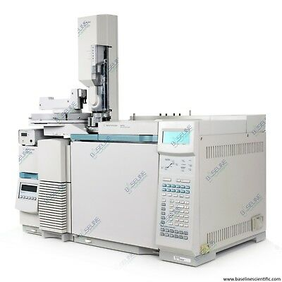 Refurbished Agilent 6890N GC and 5973N MSD with 7683 Autosampler with Warranty