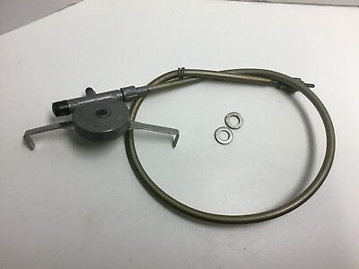 """Vintage Schwinn Approved 27"""" Speedometer Cable And Drive Varsity Lightweight"""