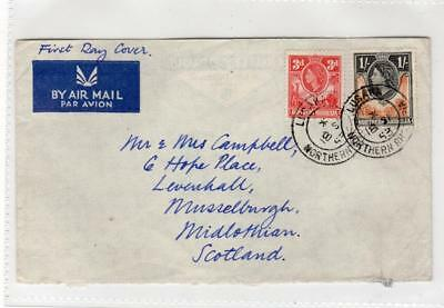 NORTHERN RHODESIA: 1953 plain first day cover (C36213)