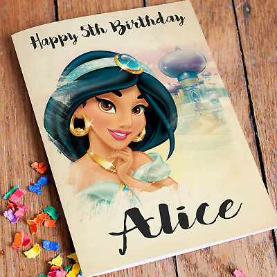 POCAHONTAS Personalised Birthday Card FREE Shipping
