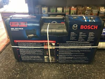 NEW/SEALED Bosch 1,000-ft Beam Self Leveling Rotary Laser Level GRL250HVCK