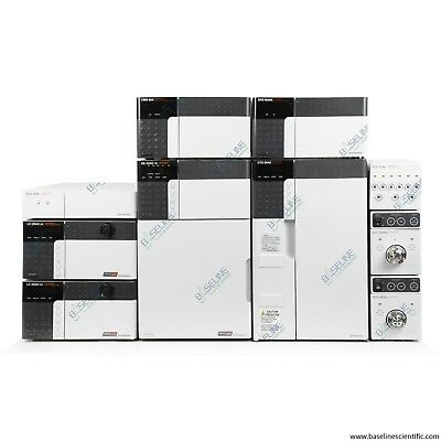 Refurbished Shimadzu Prominence FPLC HPLC System with ONE YEAR WARRANTY