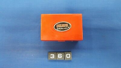 Vintage OHAUS 5502 Calibration Weight Set with Case