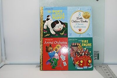 Little Golden Books Classic Collection 3 Books In 1...