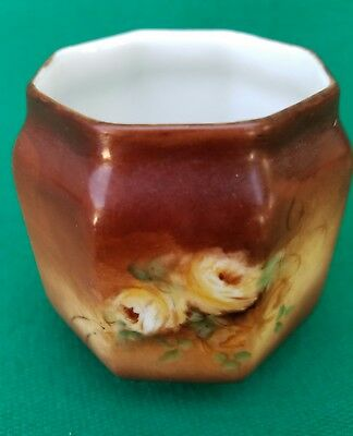 B & Co. Of France china small vase by Louise Taylor.