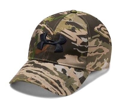 103b2f25f6da7 Under Armour UA Outdoor Storm HeatGear® Stretch Fit Ridge Reaper® Forest Cap