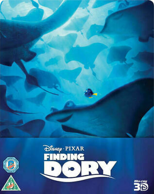 Finding Dory - Limited Edition Steelbook [Blu-ray+3D] New and Sealed!!