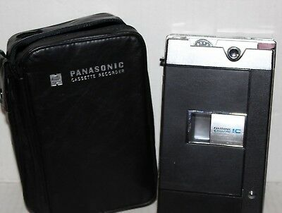 Panasonic Cassette Recorder Player RQ-210S With Case Vintage Untested