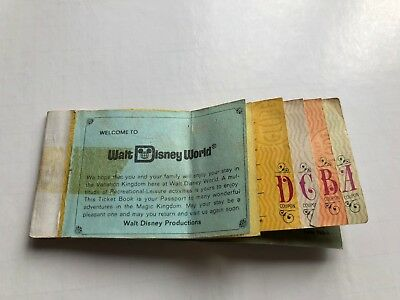 Disney The Magic Kingdom & 12 Adventures Junior Tickets from 1977 excluding E