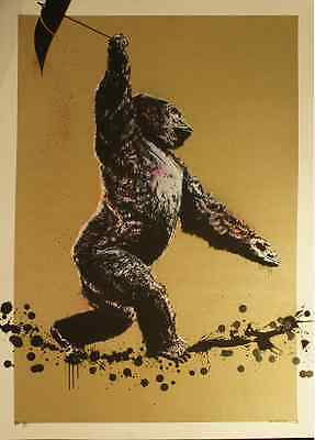 Sideshow Ape by Canvaz, ``Gold Edition´´