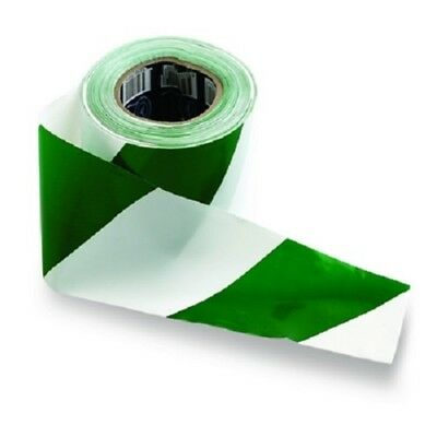 PRO CHOICE Barrier Tape Green/White 100m x 75mm (CARTON OF 20) | AUTH. DEALER