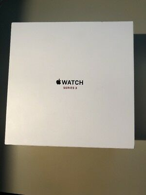 Apple Watch Series 3 42mm Silver Aluminum Sport Loop Seashell Empty Box
