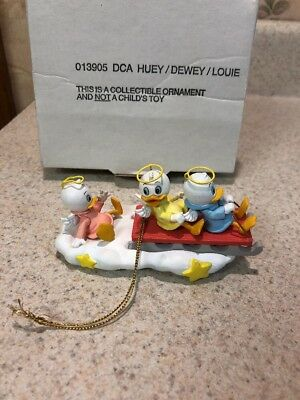 Vintage Disney Ornament - HUEY DEWEY LOUIS - Item no. 013905 DCA - MINT in BOX