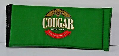 Cougar Authentic Bourbon Whiskey Brand New Folds Flat Adjustable Stubby Holder
