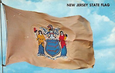 C07-4117, State Flag Of New Jersey,